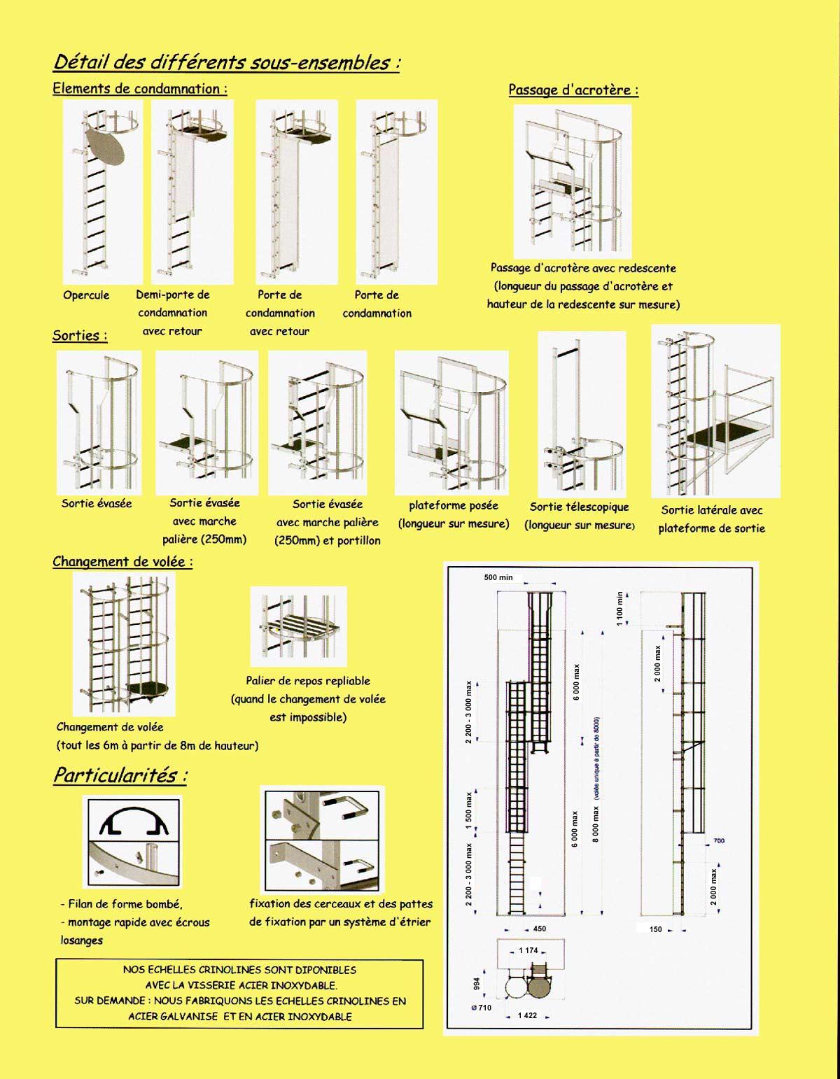 Echafaudage photo du catalogue 2010 des for Echelle transformable en echafaudage