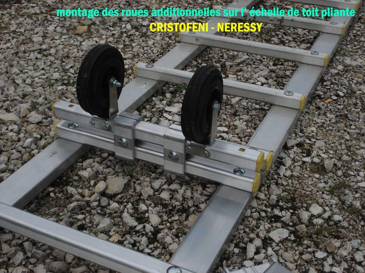 Page n 25 de la galerie des photos de la fixation des roues de loulage pour l 39 chelle de toit - Location echelle de toit ...